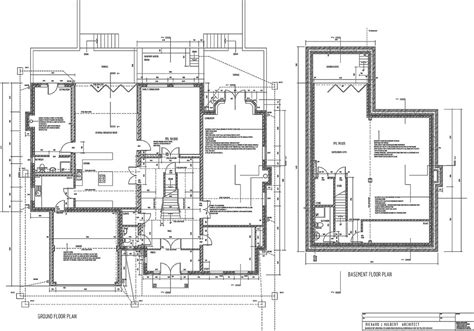 floor plans for houses uk richard j hulbert chartered architect