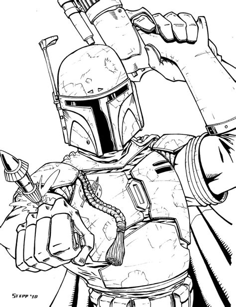 boba fett by theelysian on deviantart