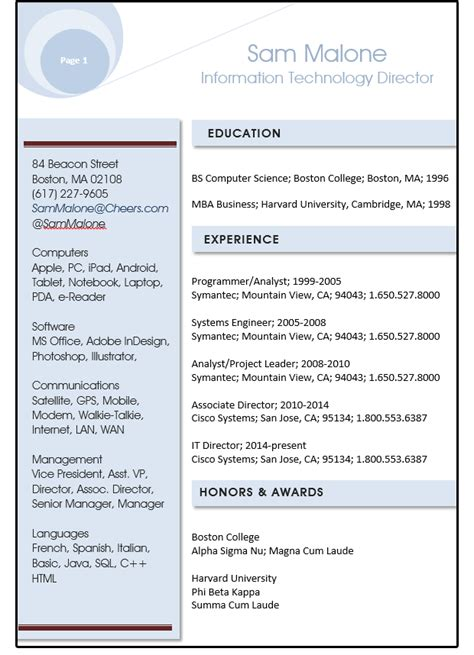 Shape Resume word resume tips using style sheets shapes and text