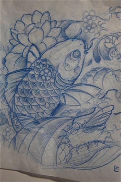 tattoo koi sketchbook crimson empire tattoo