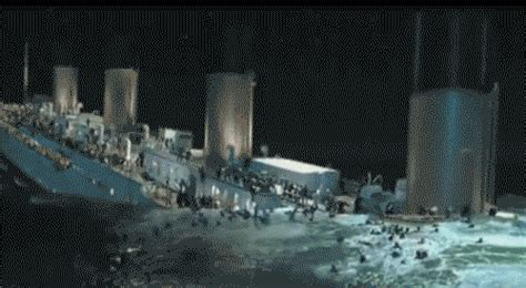 titanic boat sinking gif titanic gif find share on giphy