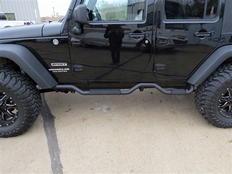 Jeep Running Boards 0 Jeep Wrangler Unlimited Nerf Bars Running Boards Rage