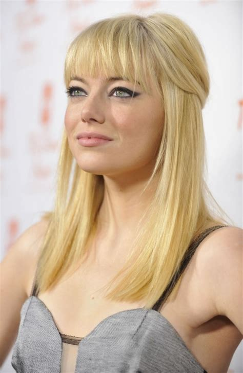 emma stone blonde emma stone s new cut color carmen tafoya s blog