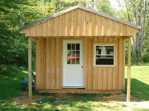 Building Cabin by How To Build A 12x20 Cabin On A Budget 15 Steps With Pictures