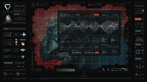 Karpet Interface los motion graphics de oblivion creados con cinema 4d