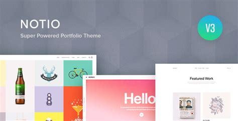 theme wordpress notio notio deluxe portfolio theme no warez not nulled