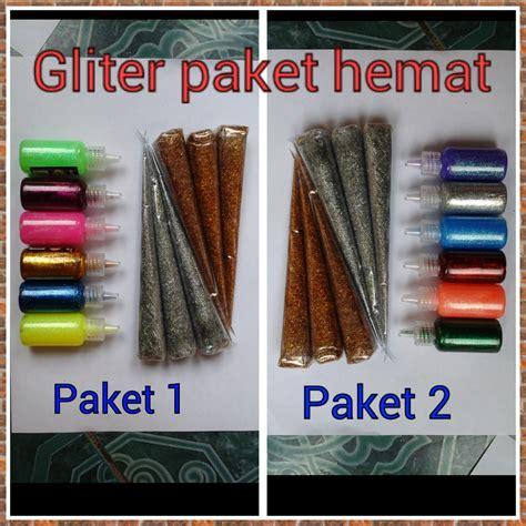 Paket Ungu Gliter by Agen Henna Golecha