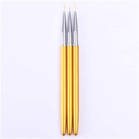 Hobi Kuas Lukis Kuas Kecil Kuas Halus Kuas Lancip Kuas Nail Brush set pena nail alat untuk melukis kuku sesuai kreasi
