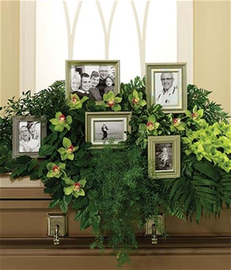 everlasting memories casket spray at from you flowers