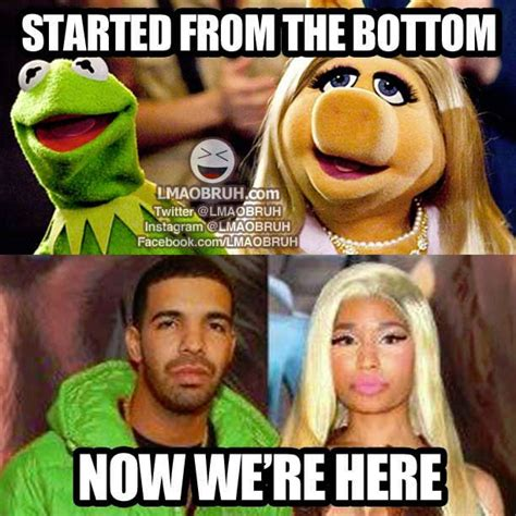 Drake Meme Started From The Bottom - 118 best images about funny memes on pinterest olivia