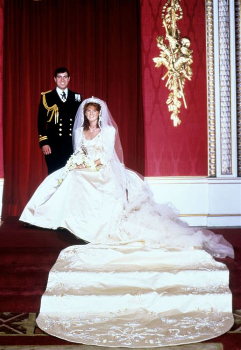 prince andrew sarahs wedding attire