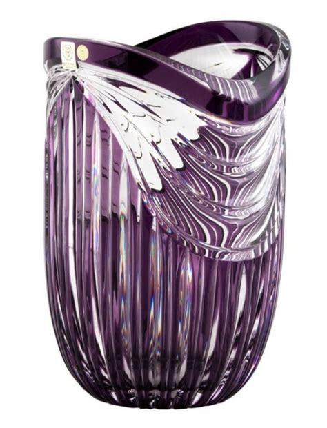 vaso viola vasi di cristallo colorato viola top it