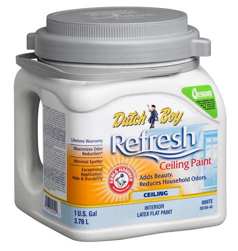 boy 174 refresh 174 bright white flat interior ceiling paint 1 gal at menards 174