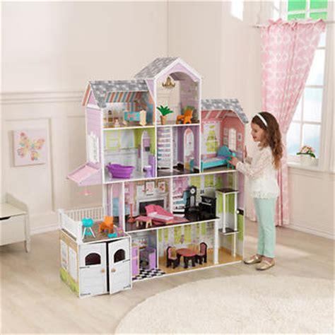 costco barbie doll house kidkraft grand estate dollhouse