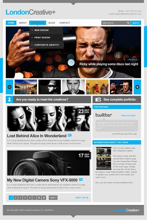 wp themes london london creative themeforest premium wordpress theme