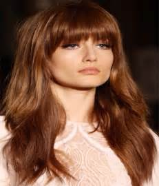 hairstyle with a few bangs 2015 hairstyles long with bangs best hairstyles