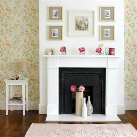 Unused Fireplace Ideas | how to beautify an unused fireplace in your home
