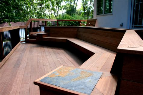 how to build deck bench seating bench seat plans deck