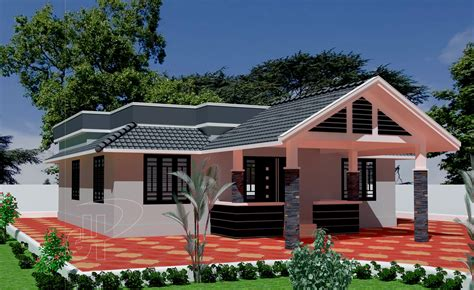 single floor house plans kerala contemporary single homes modern house