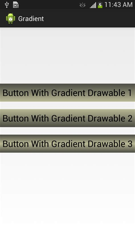 layout drawable android android tutorials for beginners gradient drawable in android