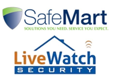 home security company review livewatch safemart