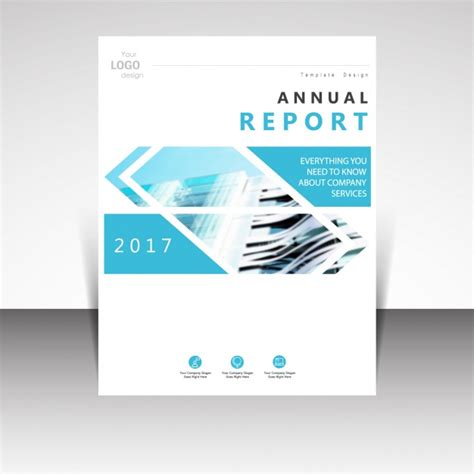annual report cover page design sles brochure template design vector free