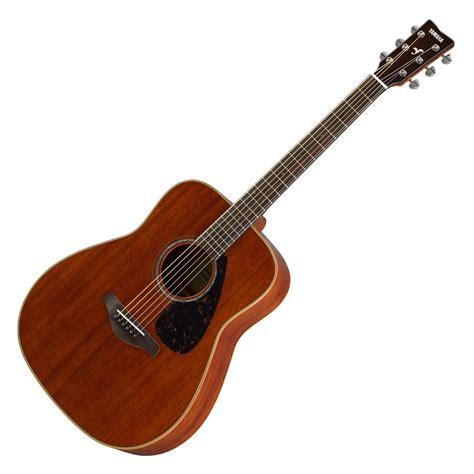 Gitar Yamaha Akustik yamaha fg850 all mahogany acoustic guitar at