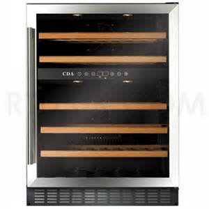 60cm freestanding under counter wine cooler stainless steel rtd