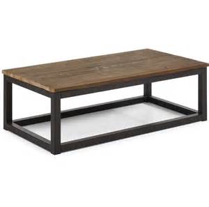 Steel Coffee Table Civic Wood And Metal Coffee Table 43 Quot Zin Home