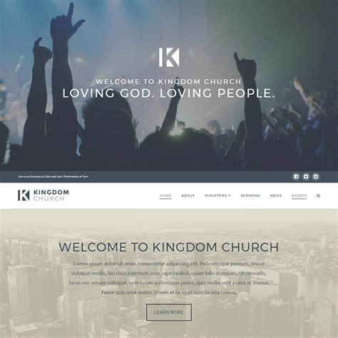 x theme blog template x theme church wordpress template themegrill blog