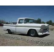 Rat Rod Hot Custom 1960 Chevy Apache Fleetside Pick Up Truck US