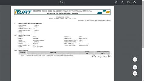 pago impuesto de vehculos en sucre bolivia impuestos de vehiculos ruat c 243 mo realizar el pago