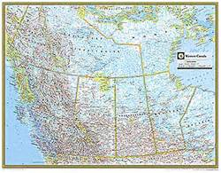 map of western usa and canada maps western canada