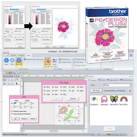 design plus embroidery ltd brother pe design plus 2 machine embroidery software
