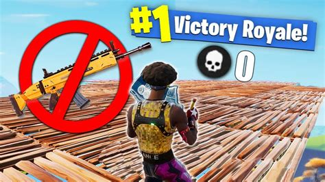fortnite no i won fortnite with no weapons