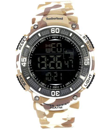 timberland multicolour digital chronograph price in