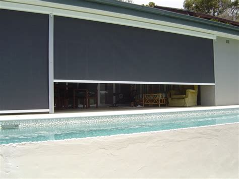 Outside Blinds And Awnings by Drop Awnings Accent Blinds
