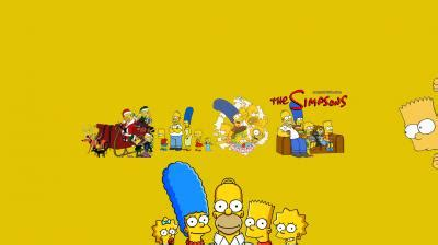 the simpsons youtube channel art