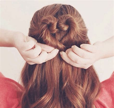 hair styles made into hearts 7 pretty heart shaped hairstyles for valentine s days