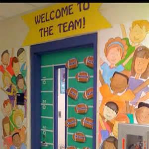 welcome to the team classroom door teaching teach