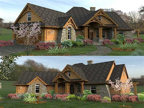 style homes plans mountain ranch style home plans luxury ranch style home