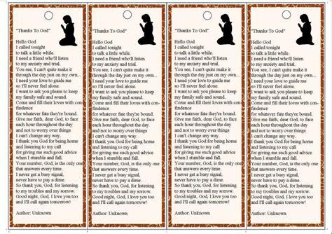 printable prayer bookmarks craftsayings com view topic printable prayer bookmark