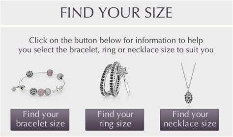 printable ring size chart nz jewelry size guide pandora jewelry us