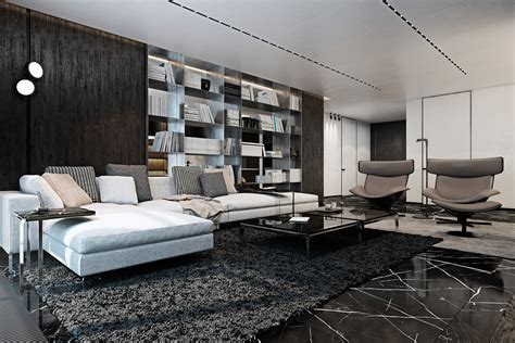 designer apartments three luxurious apartments with dark modern interiors