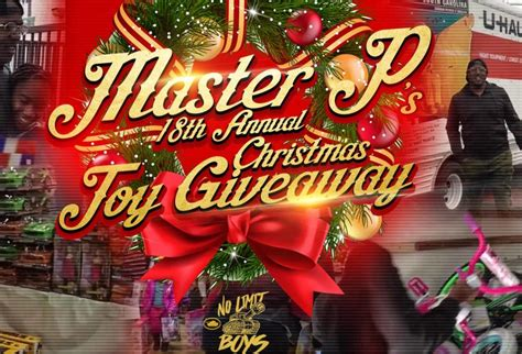 Toy Giveaways For Christmas - master p throws 18th annual toy giveaway christmas event southside jams