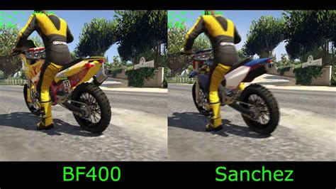 fastest motocross bike in the gta 5 dlc nagasaki bf400 vs fastest