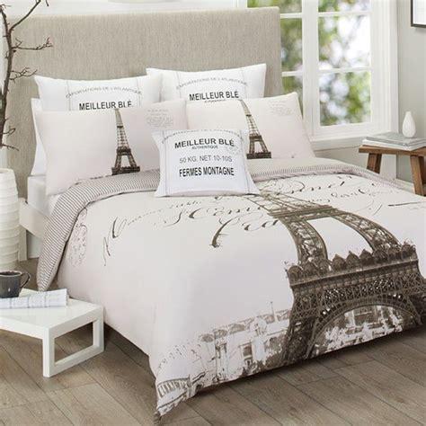 eiffel tower bedroom set single double queen king paris france eiffel tower quilt