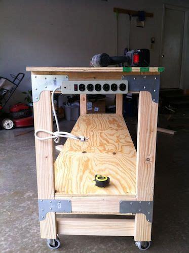 build  heavy duty workbench