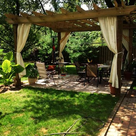 40 Pergola Design Ideas Turn Your Garden Into A Peaceful Small Backyard Pergola Ideas