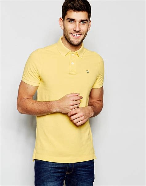 Abercrombie Fit by Comfortable Abercrombie Fitch Polo Shirt In Slim